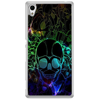 ifasho Modern  Design animated skeleton Back Case Cover for Sony Xperia Z3 Plus