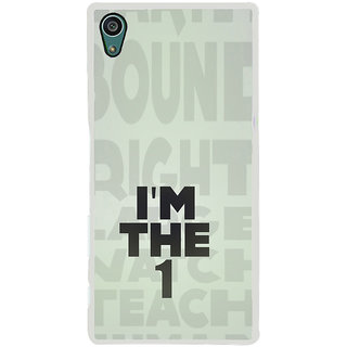 ifasho I am the one good quote on confidence Back Case Cover for Sony Xperia Z5