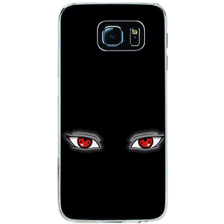 ifasho Cartoon Eyes Back Case Cover for Samsung Galaxy S6