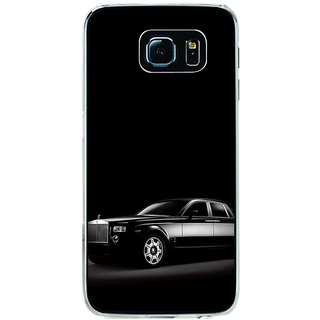 ifasho The Car Back Case Cover for Samsung Galaxy S6