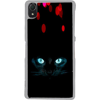 ifasho shining eyes of cat Back Case Cover for Sony Xperia Z3