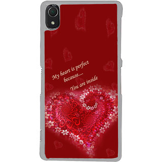 ifasho Love Quotes for love Back Case Cover for Sony Xperia Z3
