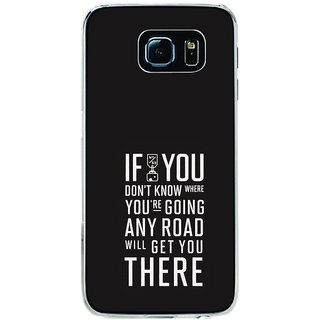 ifasho Life quote Back Case Cover for Samsung Galaxy S6