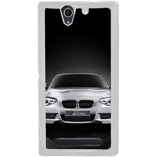 ifasho Cool Car Back Case Cover for Sony Xperia C4