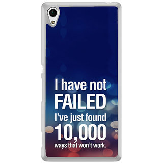 ifasho quotes on success Back Case Cover for Sony Xperia Z3 Plus