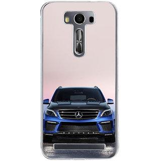 ifasho Amzing blue Car Back Case Cover for Zenfone 2 Laser ZE500KL