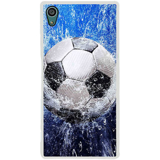 ifasho Foot ball Back Case Cover for Sony Xperia Z5