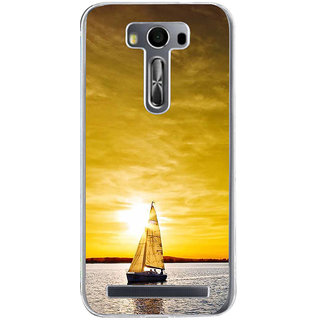 ifasho Boating at sunset Back Case Cover for Zenfone 2 Laser ZE500KL