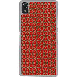 ifasho Modern Art Design Pattern with Lot Of small heart Back Case Cover for Sony Xperia Z3