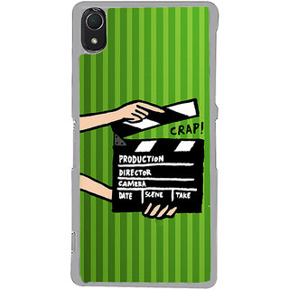 ifasho movie shoots action Back Case Cover for Sony Xperia Z3