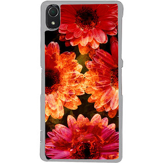ifasho Flowers Back Case Cover for Sony Xperia Z3