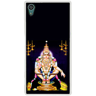 ifasho Lord Ayappa Back Case Cover for Sony Xperia Z5