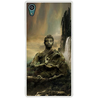ifasho Lord Budha Back Case Cover for Sony Xperia Z5