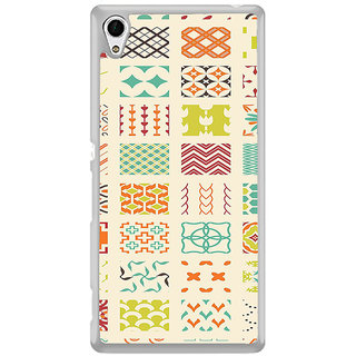 ifasho Animated Pattern colrful tribal design Back Case Cover for Sony Xperia Z3 Plus