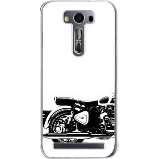 ifasho Royal Bike Back Case Cover for Zenfone 2 Laser ZE500KL