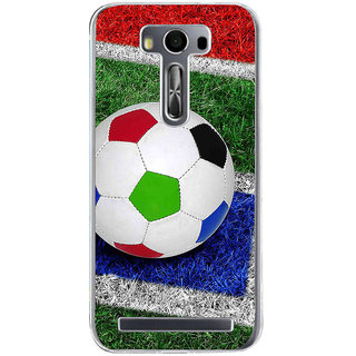 ifasho Foot ball Back Case Cover for Zenfone 2 Laser ZE500KL