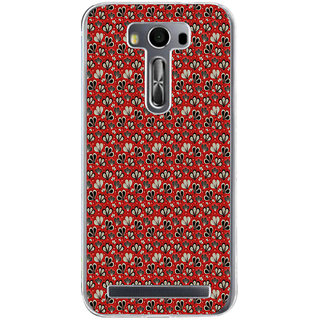 ifasho Modern Art Design animated cloth Pattern of flower Back Case Cover for Zenfone 2 Laser ZE500KL