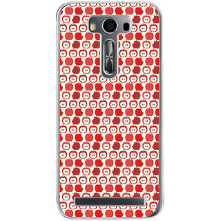 ifasho Animated Pattern design many small apple Back Case Cover for Zenfone 2 Laser ZE500KL