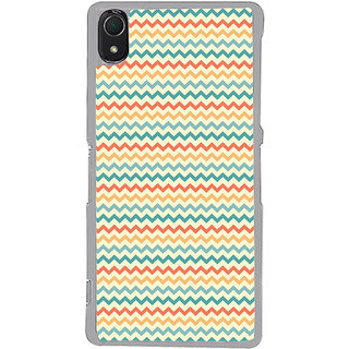 ifasho Animated Pattern of Chevron Arrows  Back Case Cover for Sony Xperia Z3