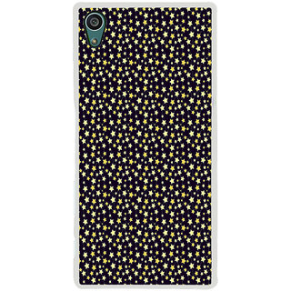 ifasho Animated Pattern colourful littel stars Back Case Cover for Sony Xperia Z5