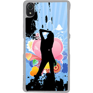 ifasho model cat walk Back Case Cover for Sony Xperia Z3