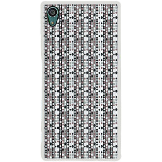 ifasho Animation Clourful Circle Pattern Back Case Cover for Sony Xperia Z5