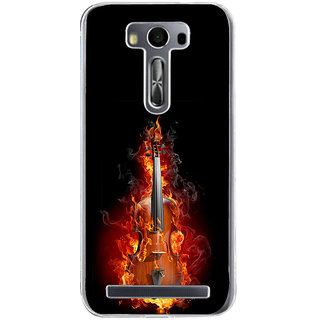 ifasho Animated  Guitar Back Case Cover for Zenfone 2 Laser ZE500KL