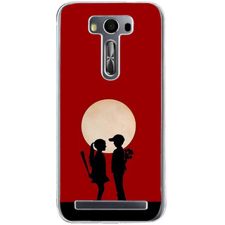 ifasho Boy and girl love Back Case Cover for Zenfone 2 Laser ZE500KL