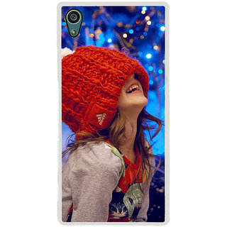 ifasho Little girl laughing Back Case Cover for Sony Xperia Z5
