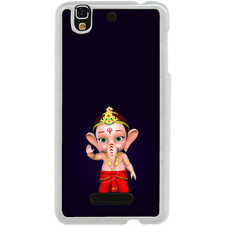 ifasho Modern Art Ganesh Back Case Cover for Yureka