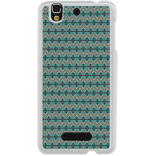 ifasho Animated Pattern of Chevron Arrows royal style Back Case Cover for Yureka