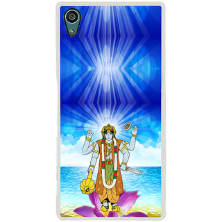 ifasho Lord Vishnu Back Case Cover for Sony Xperia Z5