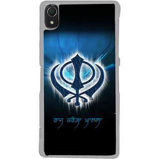 ifasho Sikh symbol Back Case Cover for Sony Xperia Z3