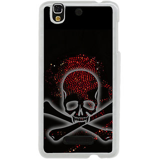 ifasho Modern  Design animated skeleton Back Case Cover for Yureka