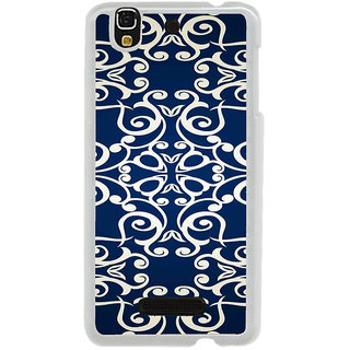 ifasho Animated Pattern design colorful flower in royal style Back Case Cover for Yureka