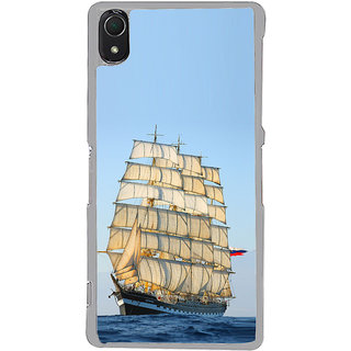 ifasho Ship in See Back Case Cover for Sony Xperia Z3