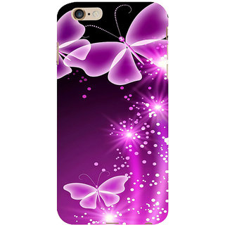 ifasho Butterfly Back Case Cover for Apple iPhone 6S Plus