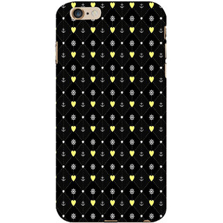 ifasho Modern Art Design Pattern with Lot Of small heart and anchor Back Case Cover for Apple iPhone 6S Plus