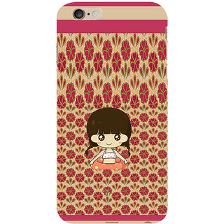 ifasho Cute Girl animated Back Case Cover for Apple iPhone 6S Plus