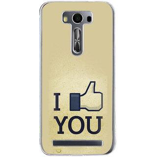 ifasho I am In love Back Case Cover for Zenfone 2 Laser ZE500KL