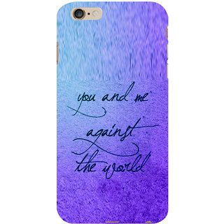 ifasho Love Quotes for love Back Case Cover for Apple iPhone 6S Plus