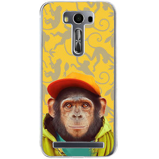 ifasho Monkey with red cap Back Case Cover for Zenfone 2 Laser ZE500KL
