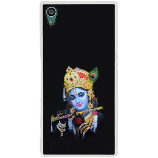 ifasho Lord Krishna with Flute Back Case Cover for Sony Xperia Z5