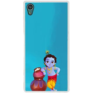 ifasho Lord Krishna stealing curd animated Back Case Cover for Sony Xperia Z5