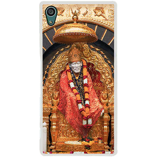 ifasho Shirdi Sai Baba Back Case Cover for Sony Xperia Z5
