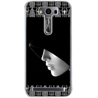 ifasho covered Girl and Spider Back Case Cover for Zenfone 2 Laser ZE500KL