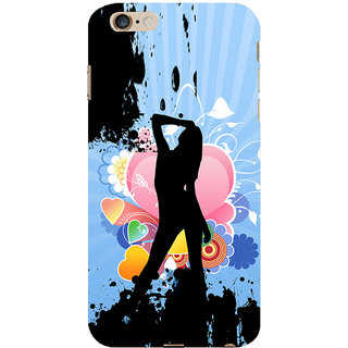 ifasho model cat walk Back Case Cover for Apple iPhone 6S Plus