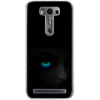 ifasho Girl with shining eyes Back Case Cover for Zenfone 2 Laser ZE500KL