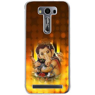 ifasho Lord Ganesha with linga Back Case Cover for Zenfone 2 Laser ZE500KL
