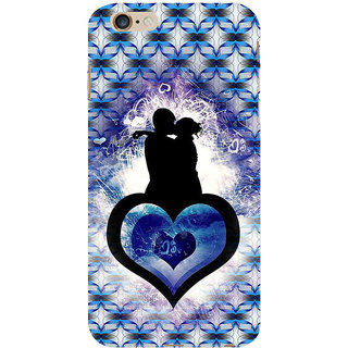 ifasho couple kissing Back Case Cover for Apple iPhone 6S Plus